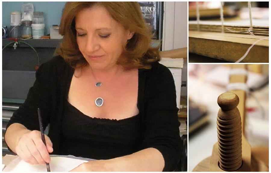 Νέοι κύκλοι σεμιναρίων βιβλιοδεσίας από την Ευαγγελία Μπίζα