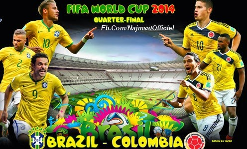 Colombia Vs Brazil World Cup