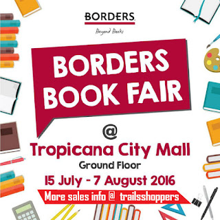 Borders Book Fair 2016 Tropicana