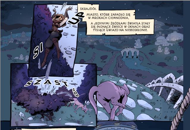cwaniara, emi de clam, komiks, komiks polski, recenzja, recenzje, recenzje komiksów,
