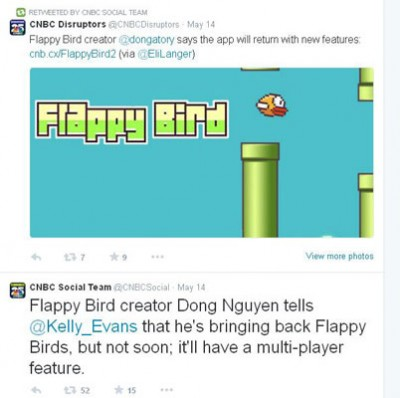 Hore! Game Flappy Bird Akan Hadir Lagi di Agustus 2014