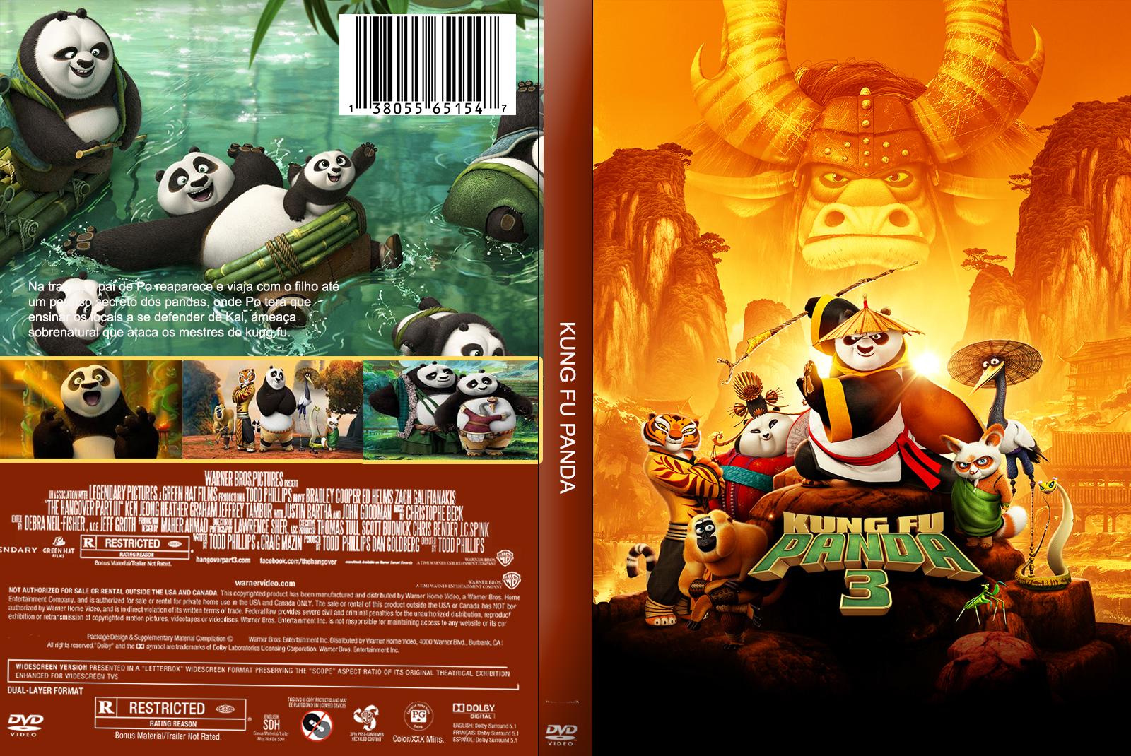 Kung Fu Panda 3 DVD-R KUNG 2