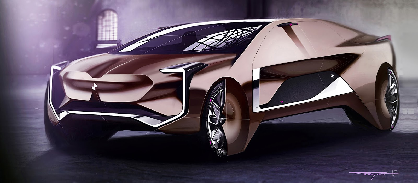 Bmw X8 Gran Coupe Luxury Vision By Julien Fesquet Motivezine