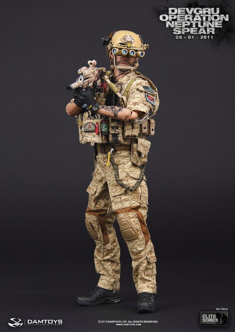One Sixth Military Figure Dam Toys Devgru Operation