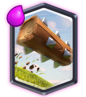 The Log Card: Legendary Card terbaru Clash Royale