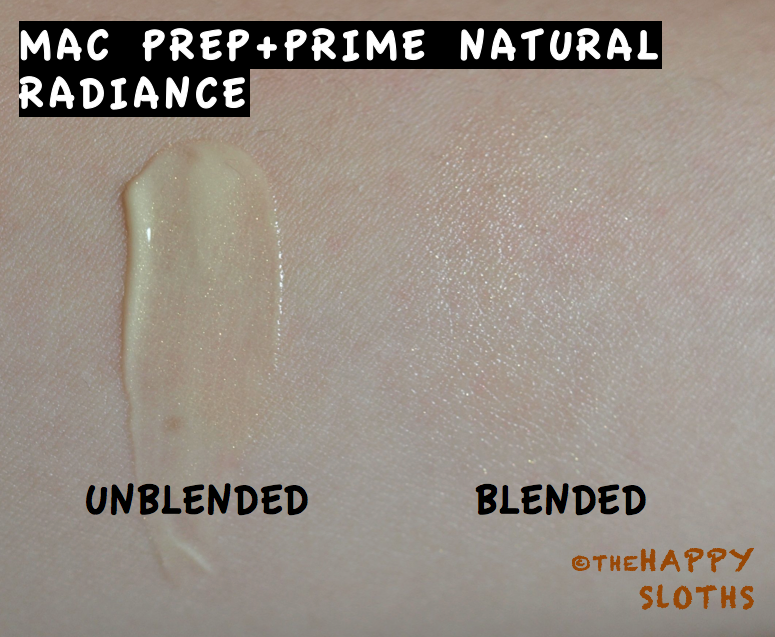 Mac Prep And Prime Natural Radiance Pink Review