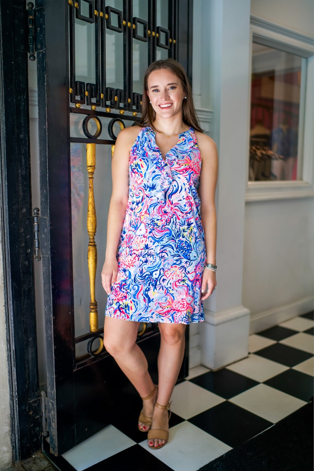 c8e04c236200 Fiesta Stretch Dress - TTS - wearing size 6 Normally  189    On sale for