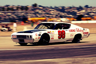 1969 Ford Torino Talladega Racing Version Nascar Competition