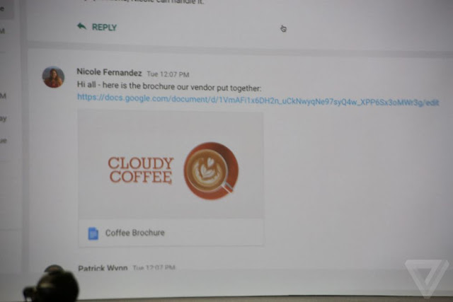 GOOGLE DOCS INTEGRATION IS HANGOUTS' MAIN DIFFERENTIATOR