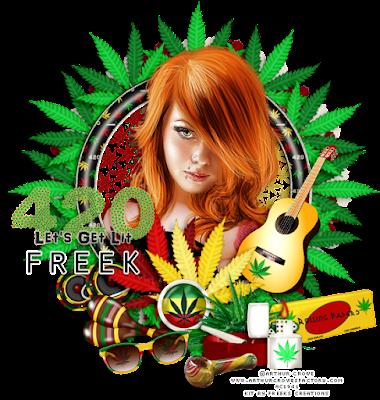 ★•★CT for Freeks Creations★•★ Rasta 420