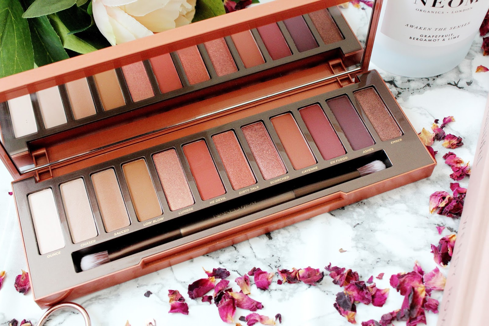Fashion-Train Beauty Urban Decay Naked Heat Palette Review-2203
