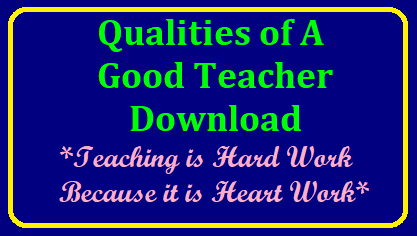 Top Qualities of a good teacher Top Characteristics and Qualities of a Good Teacher | Top Qualities of a Great Teacher | Discover Essential Qualities of a Good Teacher | Top Qualities of a Great Teacher | Nine Characteristics of a Great Teacher | Top five qualities of effective teachers, according to students | What are the most important qualities that a teacher should have/2018/01/top-qualities-of-good-teacher-download.html