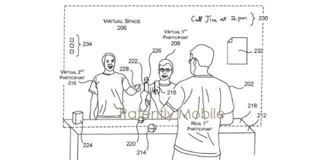 Nova patente da Microsoft permitirá que você se comunique com outras pessoas em 3D