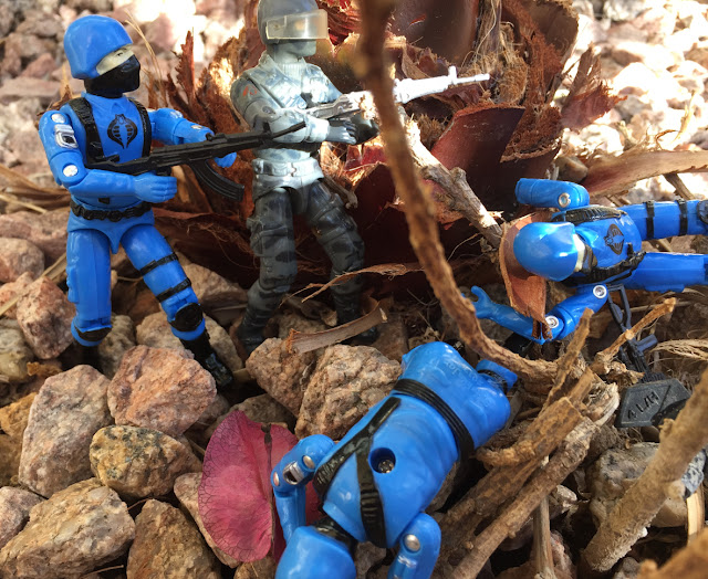 2017 Cobra Soldado, Black Major, Bootleg, Factory Custom, 1984 Firefly, Cobra Trooper, Cobra Soldier, 1983