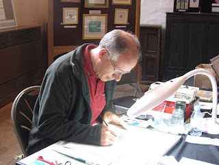 Heraldic Illumination workshop with Timothy Noad