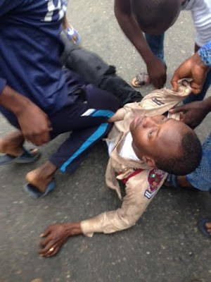 frsc beaten in yaba lagos