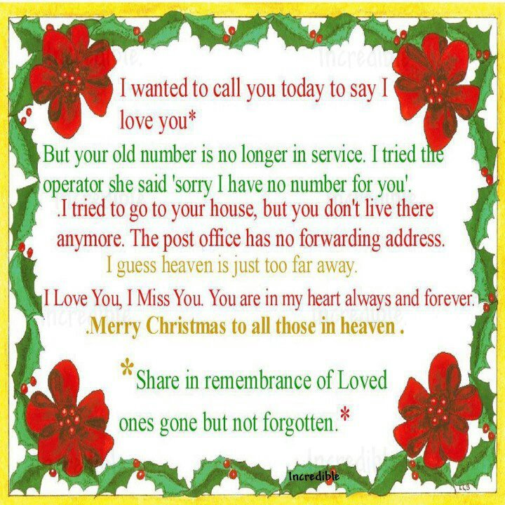 Christmas Quotes Loss Loved One: Merry Christmas Quotes. QuotesGram