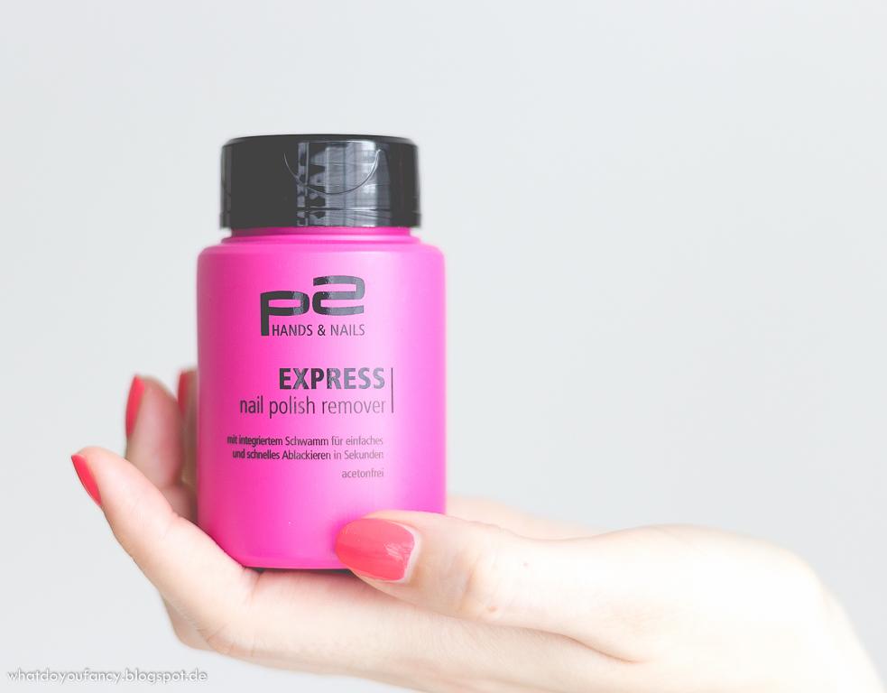 p2 Express Nail Polish Remover