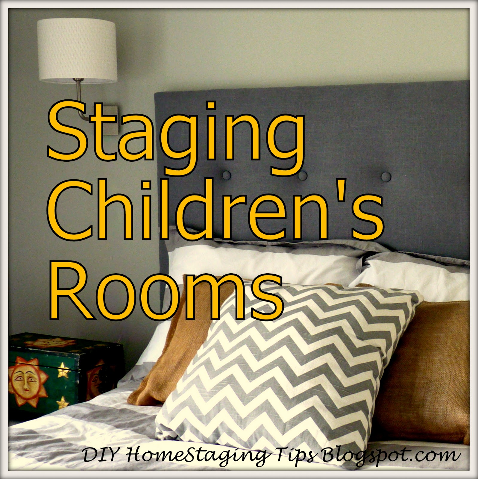 DIY Home Staging Tips: How To Stage Children's Rooms