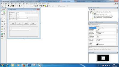 Cara Membuat Form Supplier Aplikasi Pembelian VB 6.0