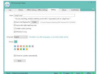 PSX Downloader Helper English language version