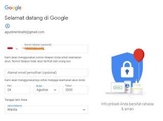 gmail, email, buat email, daftar email, daftar gmail, google