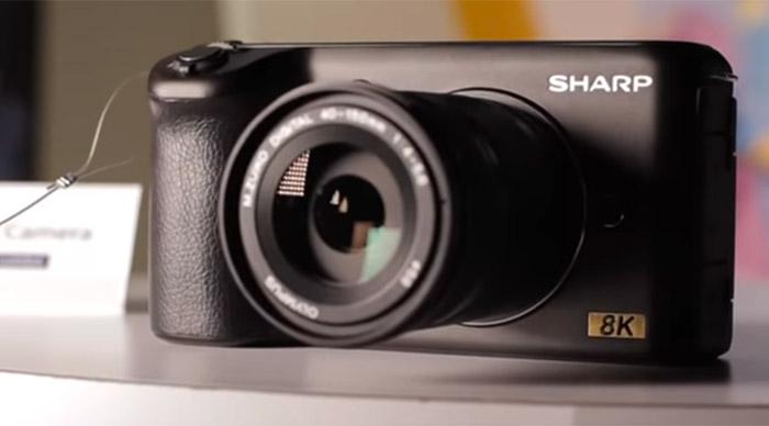 Камера Sharp с записью видео в формате 8K