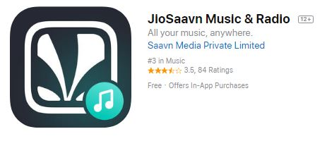 JioSaavn app logo www.tech1english.com