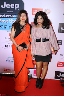 Red Carpet of Most Stylish Awards 2017 ~ Alka Yagni (1).JPG