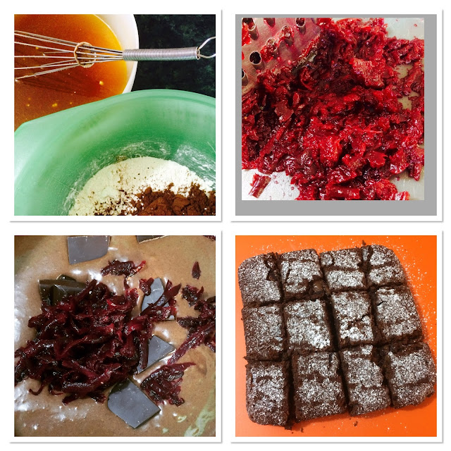 Beetroot Brownies: Taste so much better than they should.