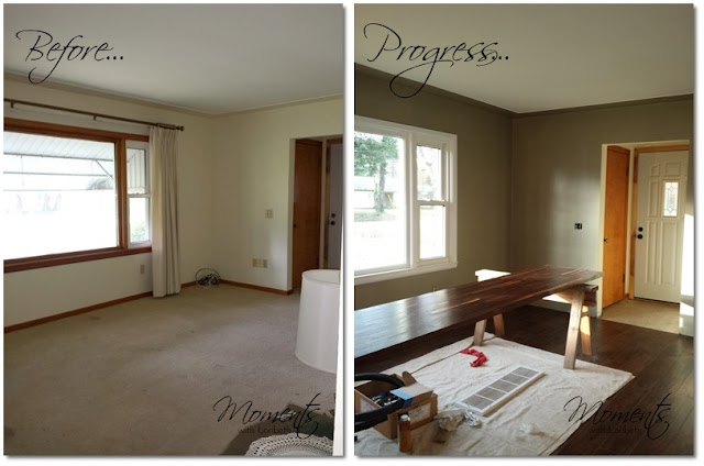 Living Room Progress