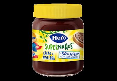 crema de cacao, hero, hero super nanos, sello de calidad, madresfera, alimentacion,