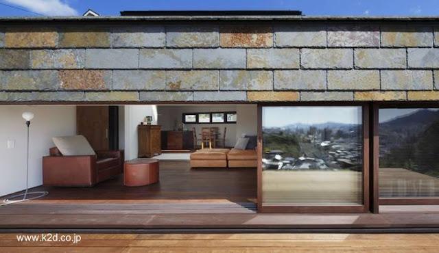 Casa residencial contemporánea en Hiroshima, Japón