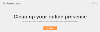 Easiest way to delete all accounts using Deseat.me