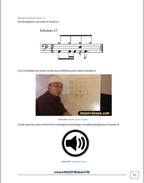 Isi E-book Belajar Drum Iman Prabawa