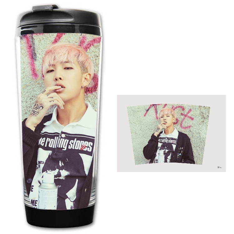 Merchandising] Botella Termo BTS Rap Monster Tipo 1 ~ Korean Shop
