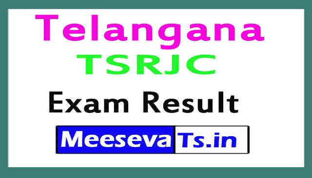 TSRJC Exam Results 2018