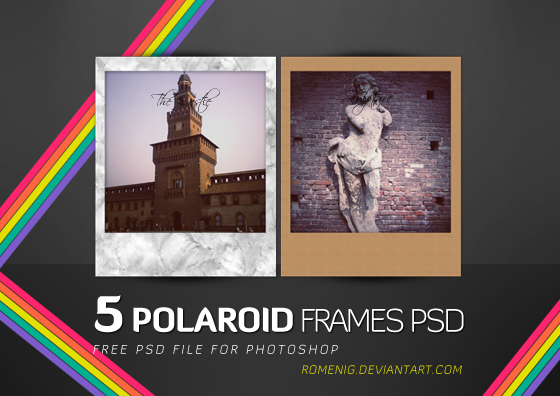 Faded Polaroid 600 photo effect for a vintage look |Old Polaroid Photoshop
