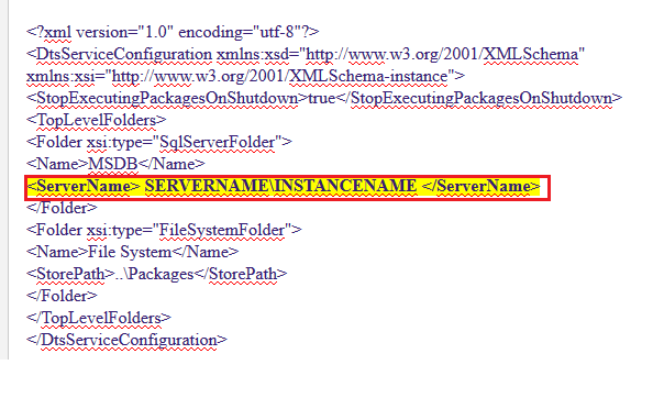 SSIS Troubleshooting: The SQL Server instance specified in