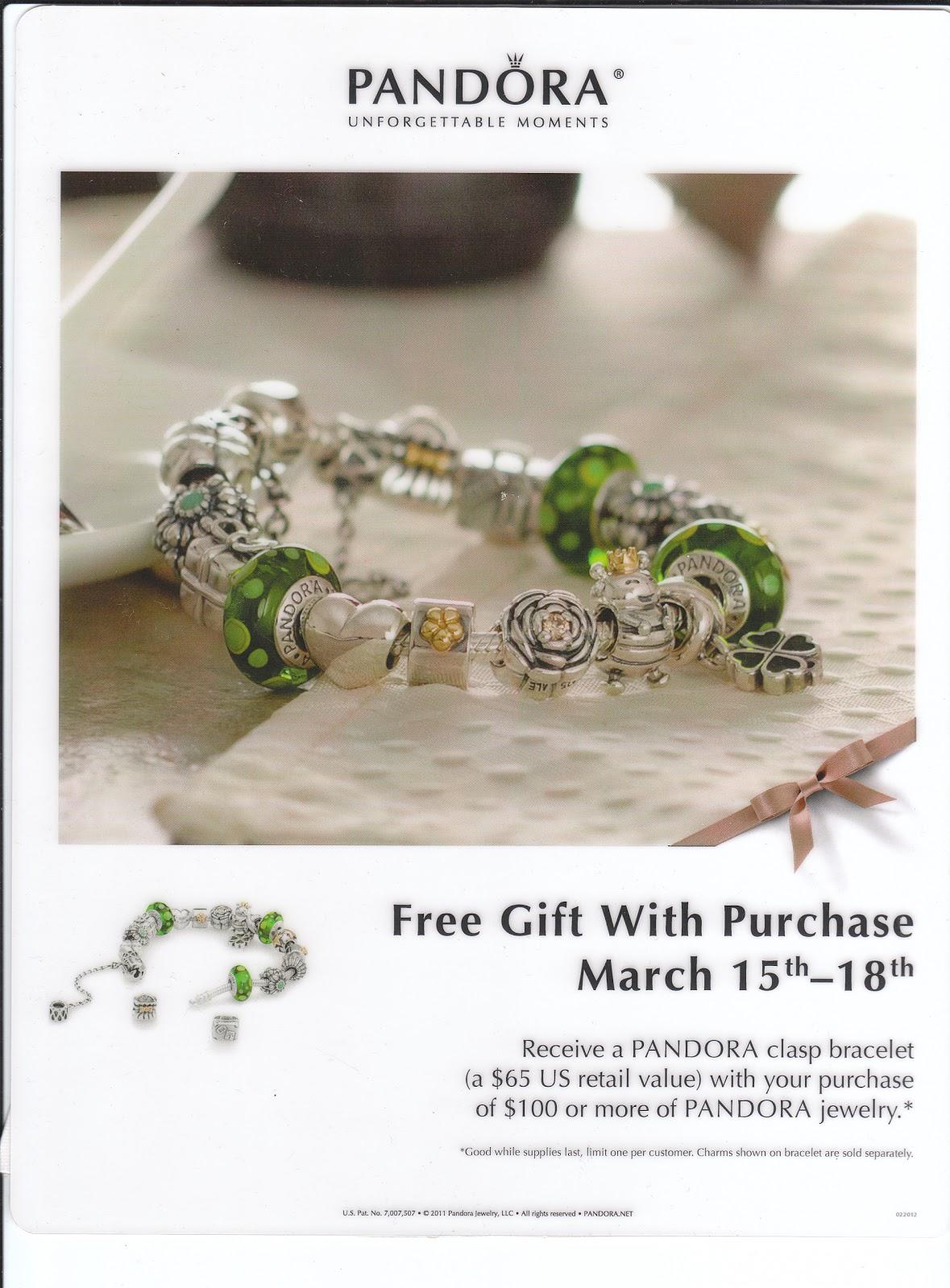 3b30e6681 PANDORA Free Bracelet Promotion!
