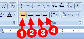 Cara Mengatur Tulisan Rata Kiri, Tengah, Kanan, Kiri dan Kanan di Microsoft Word