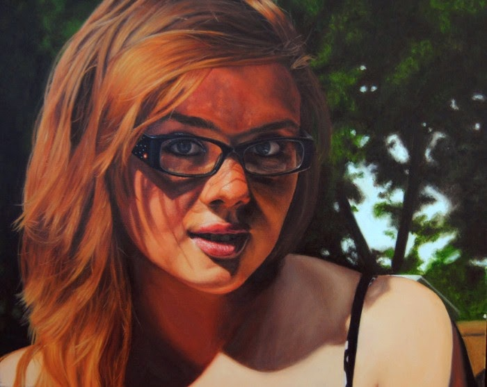 Портретная живопись. Alexandra Puleo