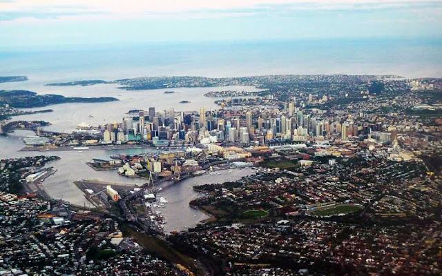 Foto aérea de Sydney