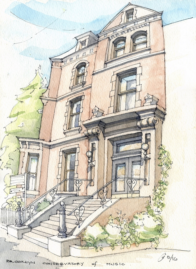 09-Brooklyn-Conservatory-of-Music-James-Anzalone-Freehand-Sketches-of-Park-Slope-Brooklyn-USA-www-designstack-co