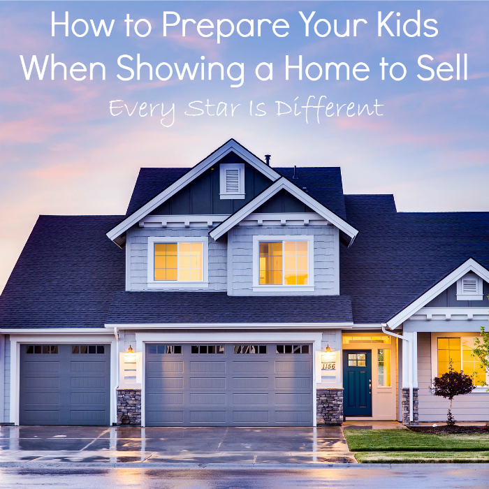 Preparing Your Kids When Showing a Home