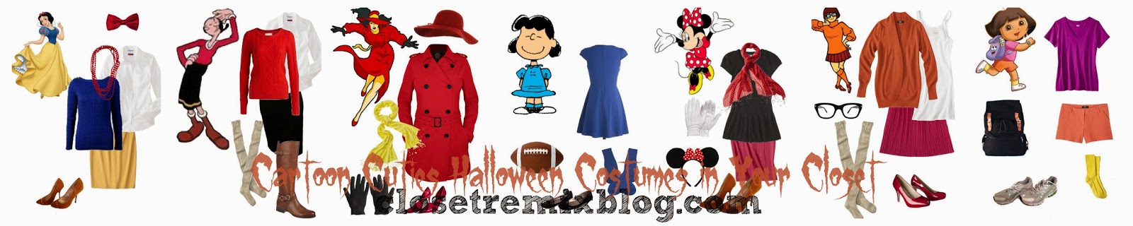 Closet Remix: Remix It! Simple Halloween Costumes in Your Closet