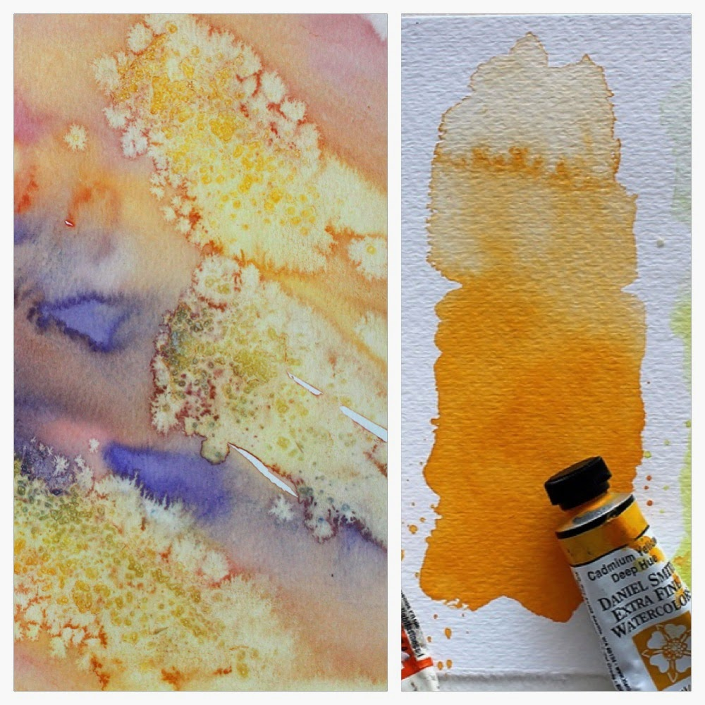 My watercolor friend ❖ Cadmium Yellow Deep Hue by Daniel Smith
