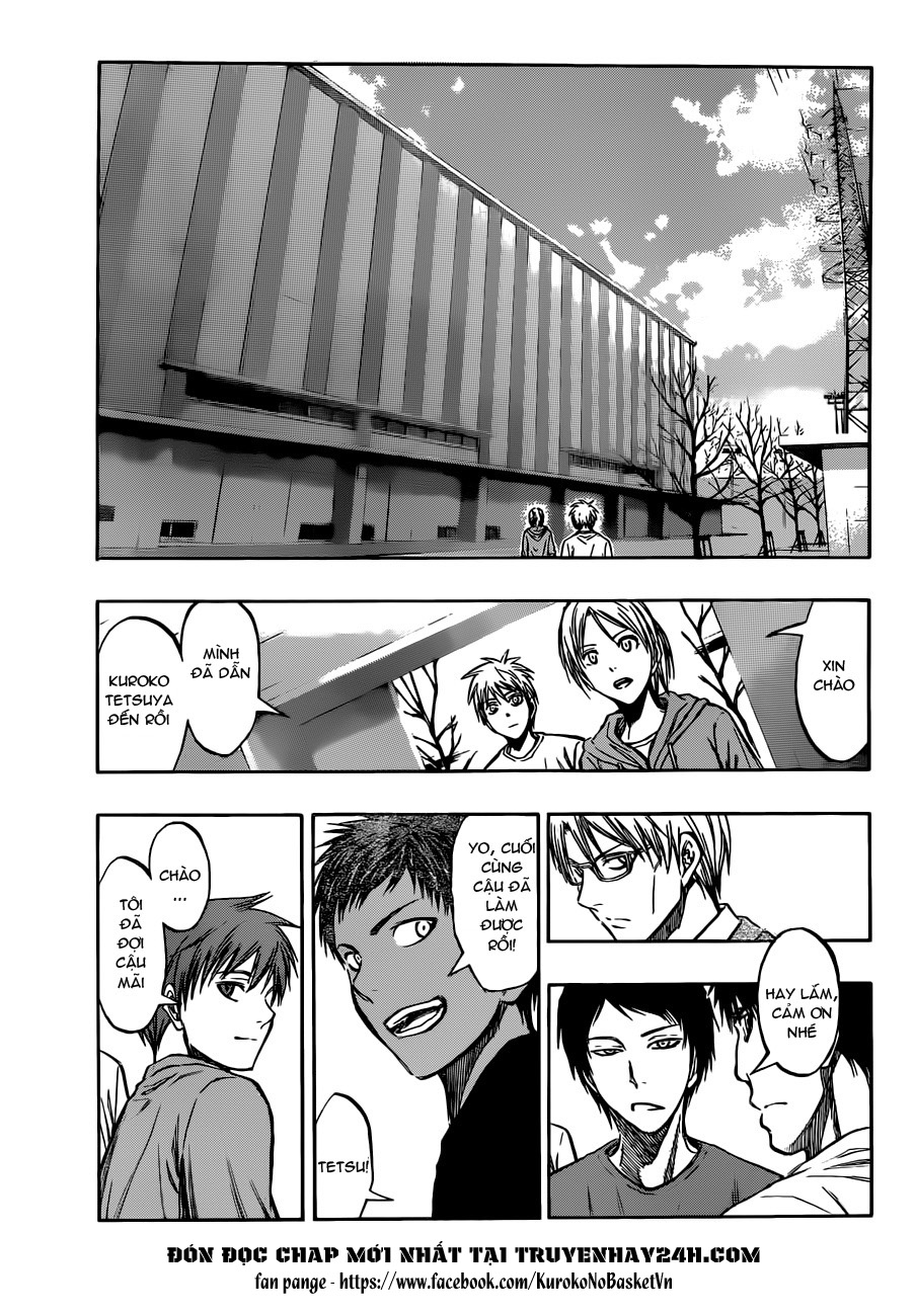 Kuroko No Basket chap 207 trang 11