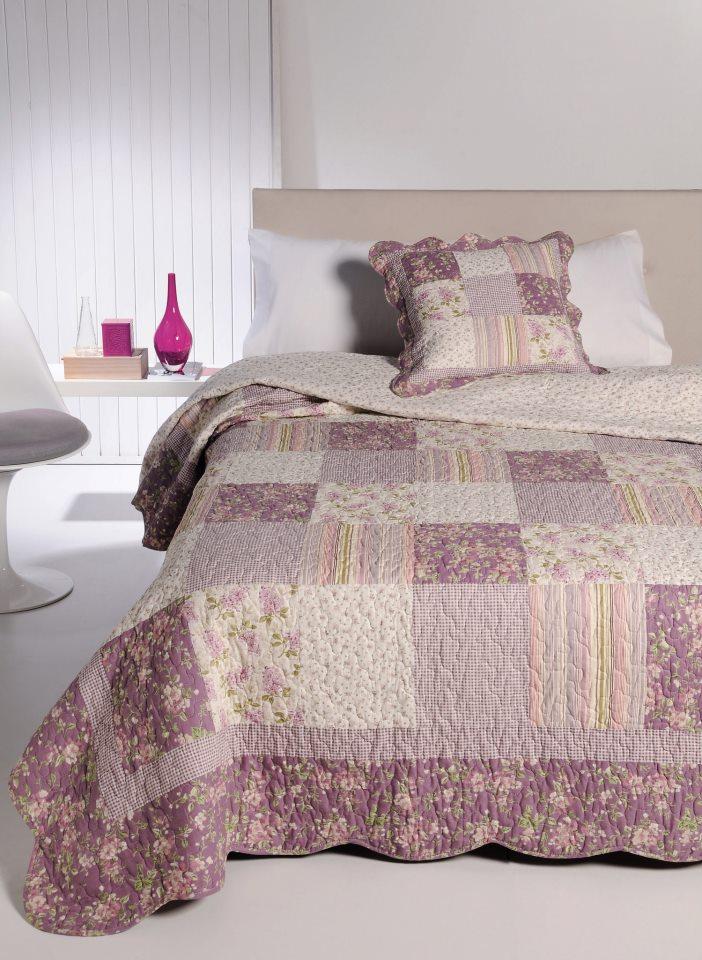 Colchas bouti con estampados florales - Ikea textil cama ...