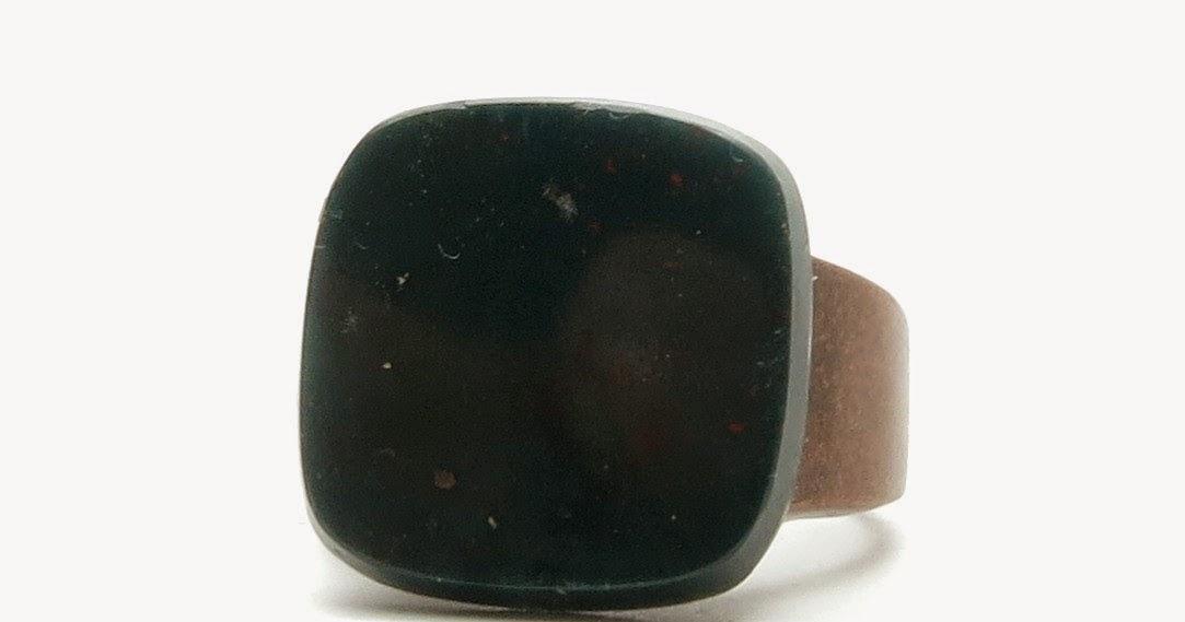 I Dig Crystals Blog: Handsome Bloodstone Rings